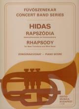 Rhapsody - Frigyes Hidas - Partition - Trombone - laflutedepan.com