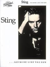 Sting - Nothing Like The Sun - Sheet Music - di-arezzo.co.uk