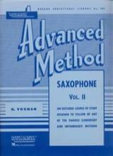 Advanced Method Volume 2 H. Voxman Partition laflutedepan.com