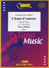 Isaac Albeniz - Chant D'amour - Partition - di-arezzo.fr