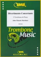 John Glenesk Mortimer - Divertimento Concertante - Partition - di-arezzo.fr
