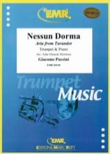 Nessun Dorma Giacomo Puccini Partition Trompette - laflutedepan.com
