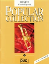 Popular collection volume 5 Partition Trompette - laflutedepan.com