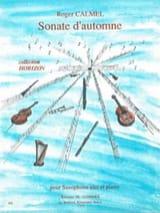 Roger Calmel - Sonate D' Automne - Partition - di-arezzo.fr
