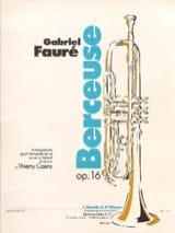 Berceuse Opus 16 FAURÉ Partition Trompette - laflutedepan