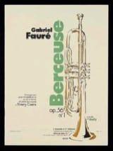 Berceuse Opus 56 N° 1 FAURÉ Partition Trompette - laflutedepan