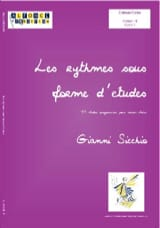 Gianni Sicchio - Rhythms in Study Form Volume 1 - Sheet Music - di-arezzo.co.uk