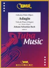 Adagio BACH Partition Tuba - laflutedepan