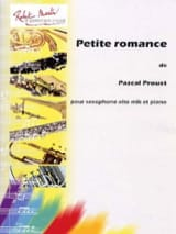 Pascal Proust - Little romance - Sheet Music - di-arezzo.co.uk