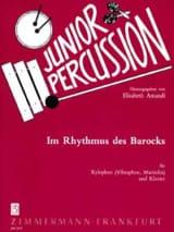 Im Rhythmus Des Barocks Partition Xylophone - laflutedepan.com