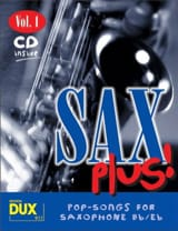 Sax plus! volume 1 - Partition - Saxophone - laflutedepan.com