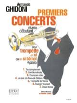 Premiers Concerts Armando Ghidoni Partition laflutedepan.com