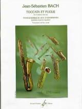 BACH - Toccata et fugue BWV 565 - Partition - di-arezzo.fr