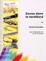Zazou dans le Tortillard Jérôme Naulais Partition laflutedepan.com