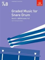Graded Music For Snare Drum Volume 4 - laflutedepan.com