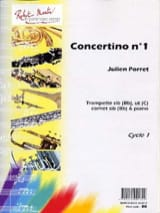 Julien Porret - Concertino N° 1 - Partition - di-arezzo.fr