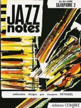 Jazz Notes Volume 2 Partition Saxophone - laflutedepan.com