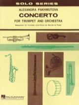 Concerto Alexandra Pakhmutova Partition Trompette - laflutedepan.com
