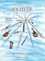 Michel Mériot - Solitude Opus 51 - Sheet Music - di-arezzo.com