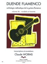 Claude Worms - Duende Flamenco Volume 6 B: Rondena Et Taranta - Partition - di-arezzo.fr