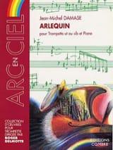 Arlequin Jean-Michel Damase Partition Trompette - laflutedepan.com