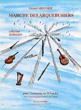Marche des Arquebusiers Gérard Meunier Partition laflutedepan.com