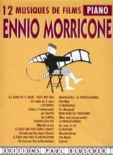 12 Musiques de Films Ennio Morricone Partition laflutedepan.com