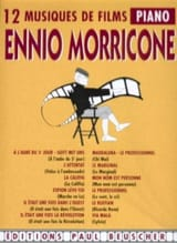 Ennio Morricone - 12 Musiques de Films - Partition - di-arezzo.fr