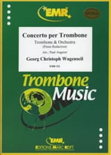 Concerto per trombone Georg Christoph Wagenseil Partition laflutedepan