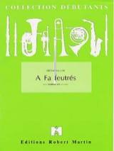 A Fa Feutrés Jérôme Naulais Partition Trombone - laflutedepan.com