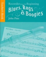 Blues Rags & Boogies Teacher Book John Pitts laflutedepan.com