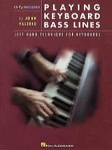 John Valerio - Playing Keyboard Bass Lines - Sheet Music - di-arezzo.com
