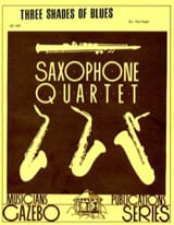 3 Shades Of Blues Paul Nagle Partition Saxophone - laflutedepan.com
