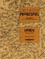 Orchester Probespiel - Partition - Cor - laflutedepan.com