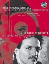 Jerry Bergonzi - Volume 1 - les Structures Mélodiques - Partition - di-arezzo.fr