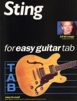 Sting - 19 Hits Songs Easy Guitar - Partition - di-arezzo.fr