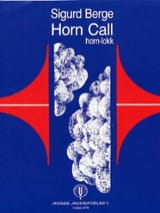 Horn Call Sigurd Berge Partition Cor - laflutedepan.com