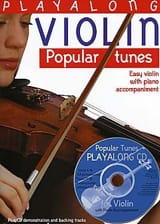 Playalong Violin Popular Tunes Partition Violon - laflutedepan.com