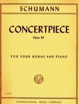 Concertpiece Opus 86 SCHUMANN Partition Cor - laflutedepan.com