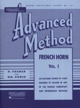 Advanced Method Volume 1 - Himie Voxman & WM. Gower - laflutedepan.com