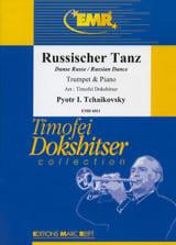 Russischer Tanz TCHAIKOVSKY Partition Trompette - laflutedepan