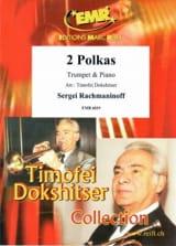 2 Polkas RACHMANINOV Partition Trompette - laflutedepan
