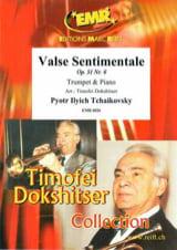 Valse Sentimentale Piotr Igor Tchaikovski Partition laflutedepan.com