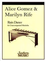 Rain Dance Gomez A. / Rife M. Partition Marimba - laflutedepan.com
