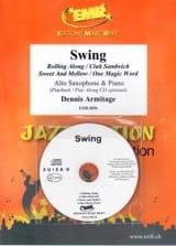 Swing Dennis Armitage Partition Saxophone - laflutedepan.com