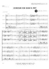 William J. Schinstine - Obertura para los pies de Hans N. - Partitura - di-arezzo.es