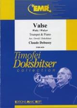 Valse DEBUSSY Partition Trompette - laflutedepan.com