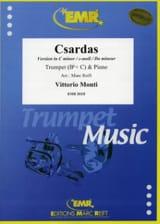 Csardas Vittorio Monti Partition Trompette - laflutedepan.com