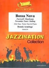 Bossa Nova Dennis Armitage Partition Saxophone - laflutedepan.com