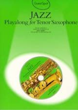 Guest Spot - Jazz playalong for tenor saxophone - laflutedepan.com